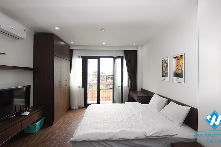 An amazingly cheap brand-new studio on Xuan Dieu st, Tay Ho district