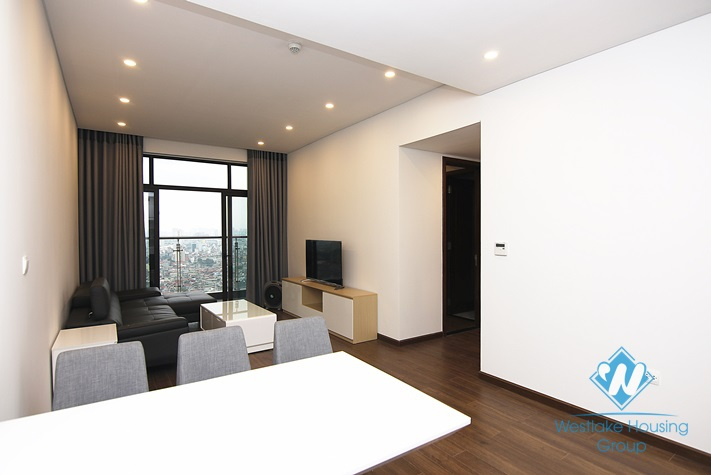 High floor 2 bedrooms apartment for rent in Sun Grand City Ancora, Luong Yen, Hai Ba Trung