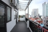 Spacious 1 bedroom apartment with big balcony for rent in Xuan Dieu, Tay Ho
