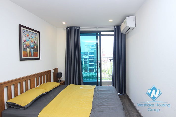 Lake view 2 bedrooms apartment with balcony for rent in Yen Hoa, Tay Ho