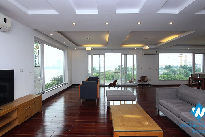 High quality apartment with lake view for rent in Westlake area, Hanoi