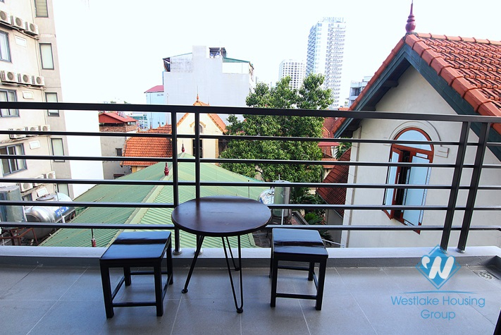 Brand new one bedroom apartment for rent in To Ngoc Van, Tay Ho