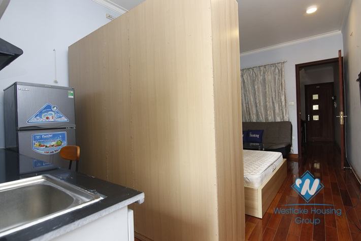 A little simple studio for rent in Ba Dinh District