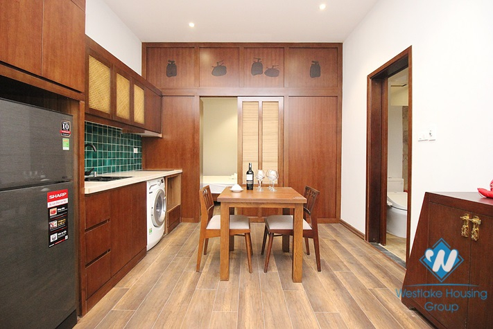 A luxury one-bedroom apartment on Kim Ma street, Ba Dinh