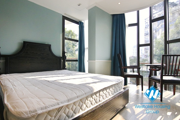 Beautiful 2 bedroom serviced apartment for rent in Hoan Kiem, Hanoi