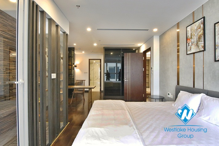 Spacious 2 bedrooms, 2 bathrooms apartment is located in Truc Bach Area , Hanoi