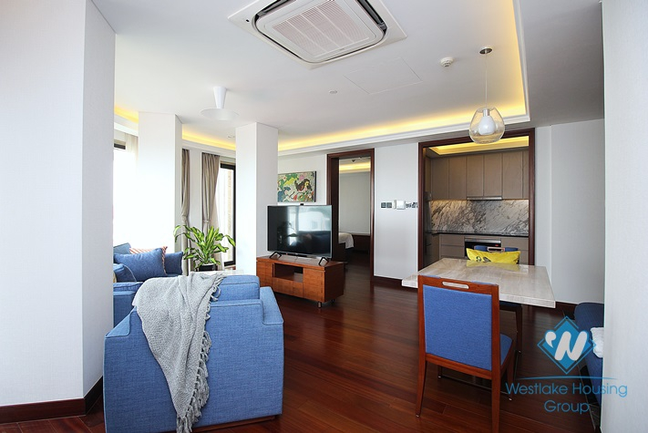 Luxury one bedroom apartment for rent in Truc Bach area, Ba Dinh