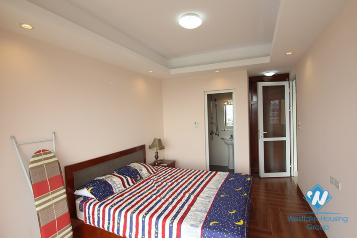 Modern apartment with large balcony for rent in Tu Hoa street, Tay Ho