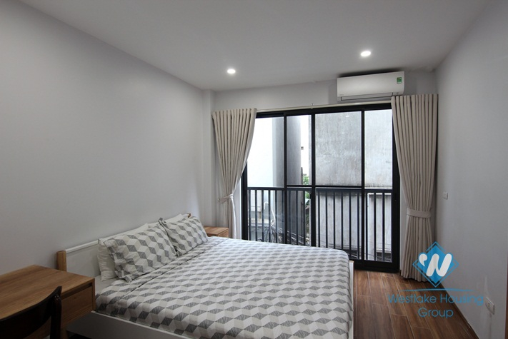 A brand new 1 bedroom apartment for rent in Dang thai mai, Tay ho, Ha noi