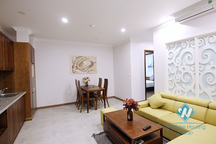 A brand new 1 bedroom apartment for rent in Nghi Tam, Tay ho, Ha noi