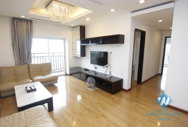 Modern 03 Bedroom apartment for rent in Hoa Binh Green, Ba Dinh district, Ha Noi