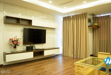 Two-bedroom apartment in the high building on Van Phuc, Ba Dinh