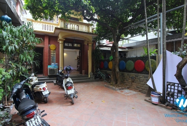 The first floor with two yards for rent for doing business on To Ngoc Van st, Tay Ho district