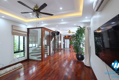 A newly renovated three-bedroom house on Au Co st, Tay Ho district