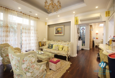 A cozy four-bedroom villa in Ciputra, Tay Ho district, Hanoi