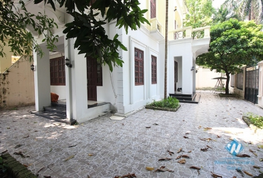 A four-bedroom villa in Ciputra, Tay Ho district with a large yard