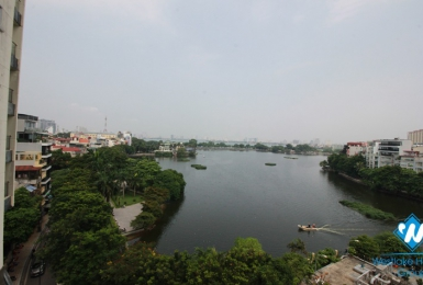 A luxury one-bedroom apartment with lake view in Truc Bach area, Ba Dinh district