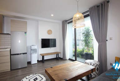 A cozy brand-new two-bedroom apartment in the center of Hanoi