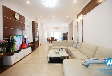 A well-decorated five-bedroom villa in Ciputra, Tay Ho district