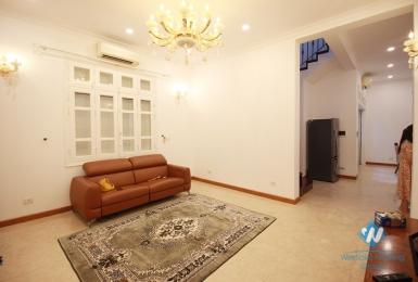 A luxury four-bedroom villa with a garage in Ciputra, Tay Ho district, Hanoi