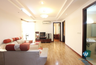 A fully furnished three-bedroom apartment in Ciputra Tay Ho district