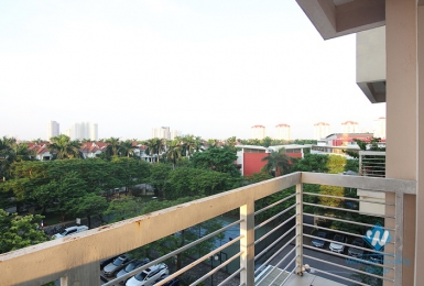 A bright and modern three-bedroom apartment in Ciputra,Tay Ho district