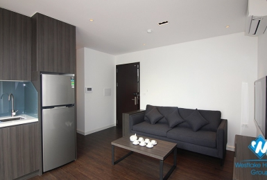 A state-of-the-art and fully furnished one-bedroom apt on Tay Ho street, Tay Ho district