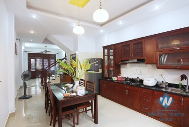 A four en suit bedroom house in Dang Thai Mai street, Tay Ho district