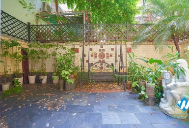 A cozy four-bedroom house with a lovely garden in Tay Ho district, Hanoi