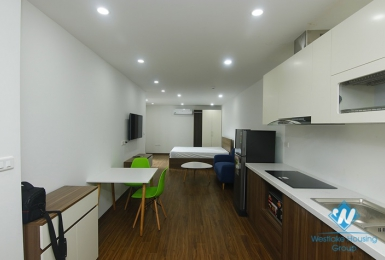 A  modern and brand-new studio on 3rd floor on Dao Tan, Ba Dinh st