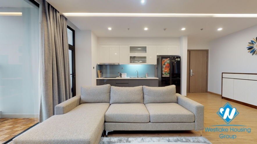 A beautiful and spacious 3 bedroom apartment for rent in Vinhomes Metropolis