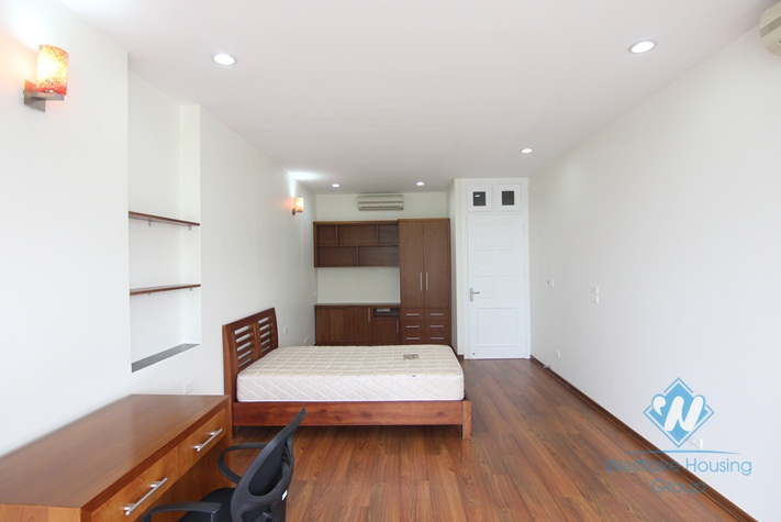Good location apartment with lake view for rent in Quang An st, Tay Ho District