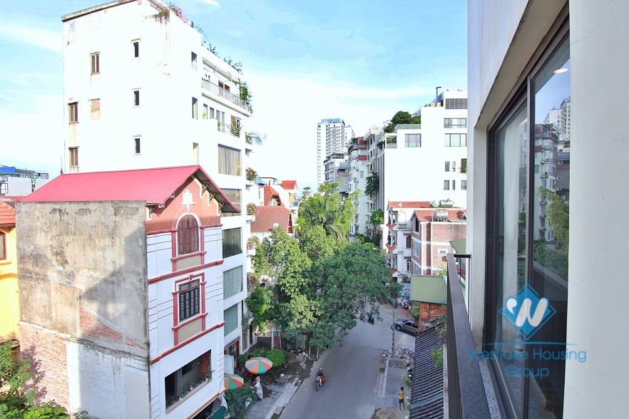 Flooded with light in a morden spacious 2 bedroom apartment for rent in Tay Ho