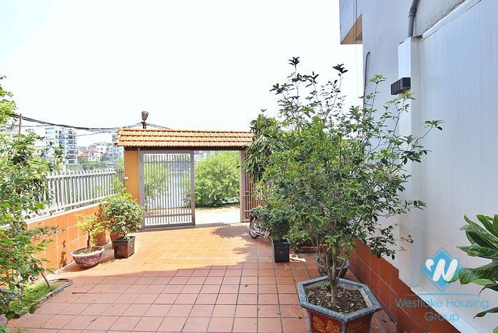 Garden and swimming pool villa rental nestled in a peaceful neighborhood of Tay Ho