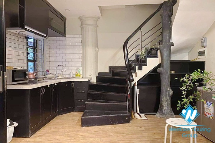Two bedroom house for rent in the heart of Hoan Kiem district