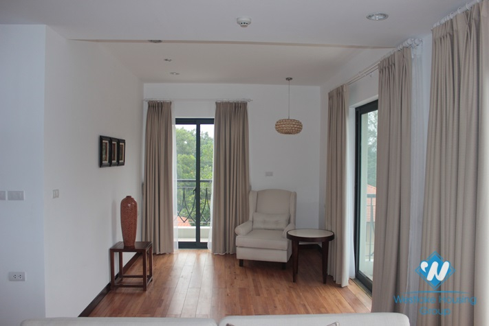 Luxury apartment for rent in Dang Thai Mai, Tay Ho, Hanoi