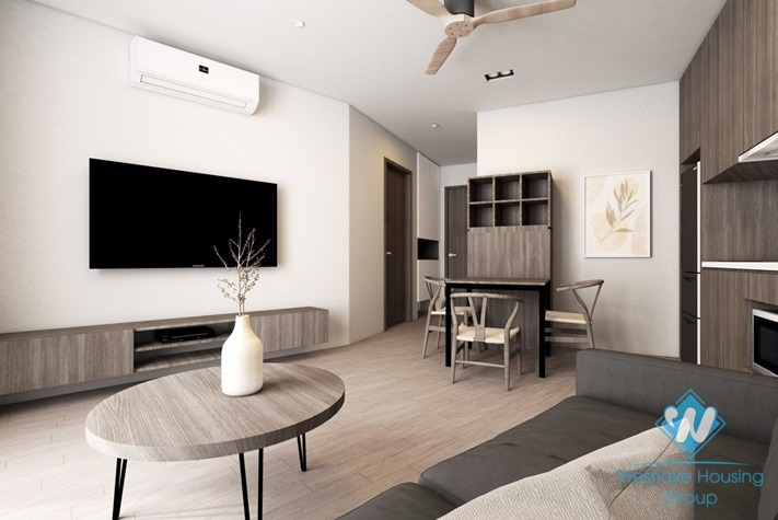A brand new and modern 1 bedroom apartment in Truc bach, Ba dinh, Ha noi