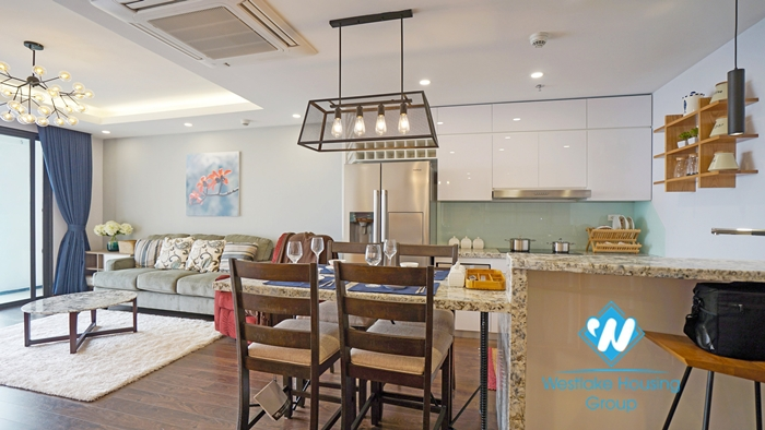 Two bedroom apartment for rent at D '. Le Roi Soleil Quang An