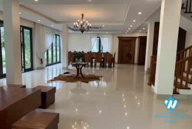 Nice house with 4 bedrooms for rent in Ecopark Van Giang District