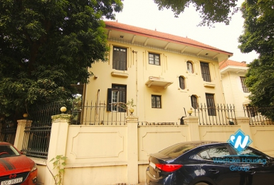 A huge villa for office rental in the central of Hanoi