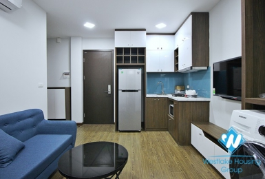 An affordable rental 1 bedroom apartment for rent on To Ngoc Van street, Tay Ho