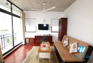 A bright, good space 1 bedroom apartment for rent on Tay Ho street