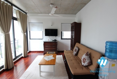 A nice 1 bedroom+1 working room on Tay Ho street for rent