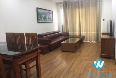 An affordable 3 bedroom apartment for rent on Trung Kinh street, Cau Giay