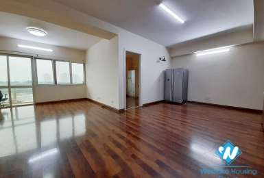 Unfurnished, spacious 4 bedroom apartment for rent in E Tower, Ciputra