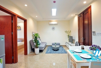 Well-furnished 2 bedroom apartment for rent on Giang Vo street