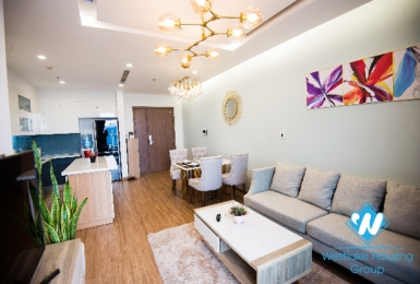 A cheerful, bright 2 bedroom apartment for rent in Vinhomes Metropolis