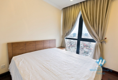 Royal city Hanoi 90 sqm furnished apartment for rent, high floor with balcony