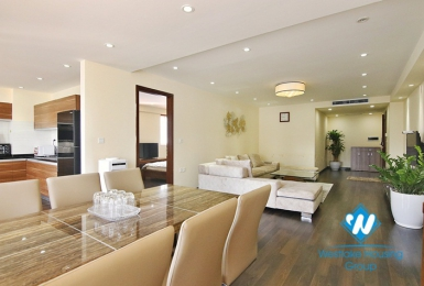 Spacious & modern 02 bedroom apartment for rent in Hai Ba Trung, Hanoi