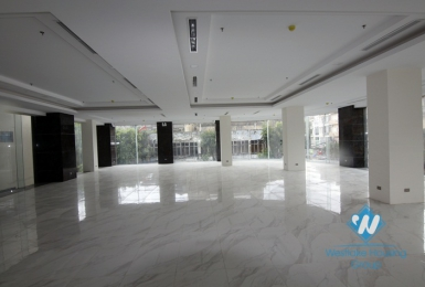 A brand new building office for rent in Kim Ma, Ba dinh